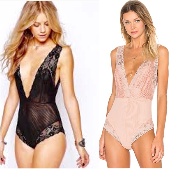 3969c15bb47be Last one❣️Free People Sexy Black Bodysuit
